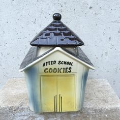 A personal favorite from my Etsy shop https://www.etsy.com/listing/233421871/vintage-1950s-after-school-house-cookie