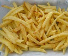 Batata frita crocante sem nenhuma gota de óleo - e tão fácil de preparar! - Ver Dicas