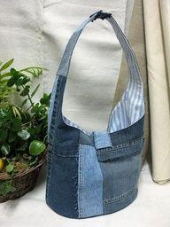 okay, I just love this denim bag!