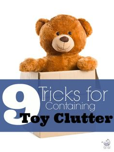 Toy clutter taking over your house after the holidays? 9 tricks to containing it! | Fit Bottomed Mamas