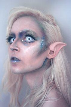 Batty Makeup • ✧・゚: *✧・゚:* Creepy pastel...