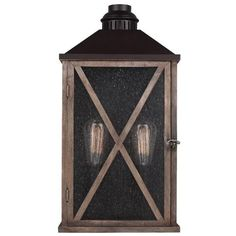 Buy the Murray Feiss Dark Weathered Oak / Oil Rubbed Bronze Direct. Shop for the Murray Feiss Dark Weathered Oak / Oil Rubbed Bronze Lumiere Height 2 Light Outdoor Wall Sconce and save. Wall Lights, Outdoor Wall Lantern, Weathered Oak, Outdoor Wall Sconce, Feiss Lighting, Outdoor Lanterns, Outdoor Walls, Transitional Wall Sconces, Light
