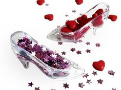 Cinderella Slipper Decorations pack of 12 $13.95 FREE SHIPPING