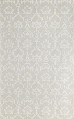 Brocade wallpaper by Farrow & Ball