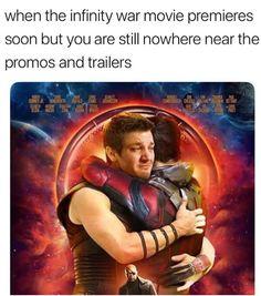 Where is my Hawkeye?!