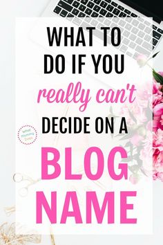 I needed to read this today! She goes over what you DEFINITELY SHOULD DO when you are completely stuck picking the perfect blog name. This is so me! I've been trying to come up with a good blog name idea forever and she really helped me figure out how to speed things up. I just registered my domain name!! So glad I found her blogging tips. | how to #startablog for beginners #blogging #makemoney Make Money Blogging, Way To Make Money, Make Money Online, Blogging Ideas, Blog Names, Making Extra Cash, Work From Home Jobs, Blogging For Beginners, Blog Tips