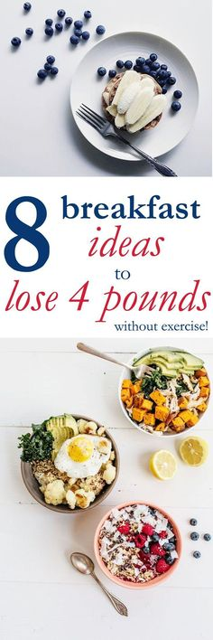 I lost 4 pounds this month with these healthy breakfast ideas. The burst of energy I had every morning was amazing! I am so glad I tried this.