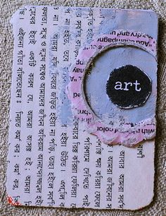 52 week art journal challenge - turn one playing card per week into a mini art journal page.  Prompts included.
