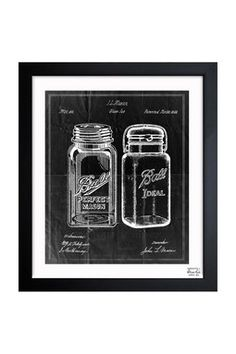 Would love to recreate this on a scratch art board.   HauteLook | Americana By Oliver Gal: Oliver Gal