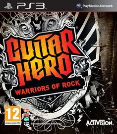 Guitar Hero: Warriors of Rock by Activision - XBOX 360 Rated TEEN Used - excellent used condition. Comes with original case and manual. Rock n' roll will never die, largely thanks to you, your friends and Guitar Hero®: Warriors of Rock. Embark on . Xbox 360 Video Games, Video Game Music, Latest Video Games, Music Games, Guitar Hero, Buy Guitar, Hero Games, Wii Games, Warriors Standing