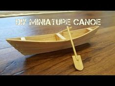 How to Make a Boat with Popsicle Sticks - Handmade - DIY Crafts - Creative with Ice-Cream Sticks Popsicle Stick Crafts, Craft Stick Crafts, Diy Crafts For Kids, Wood Crafts, Make A Boat, Build Your Own Boat, Popsicle Stick Boat, Ice Cream Stick Craft, Pop Stick