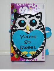 FREE~~In the Hoop Owl Sweet Treat Holder