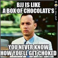For my BJJ friends. Martial arts funnies.  #Repost @jiu_jitsu_stuff with @repostapp. ・・・ Seen on FB from BJJ Video Vault