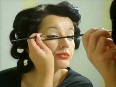 Pin Up Hair and Makeup Tutorial