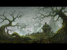 ArtStation - The Tomb of The Forgotten, Todor Hristov