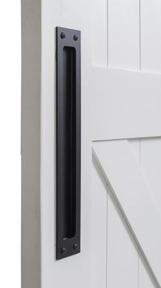 Modern Flush Barn Door Pull   Rustica Hardware