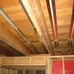 Celing Radiant Tubing - heating the floor above it, ThermoFin, Radiant Engineering #HVAC