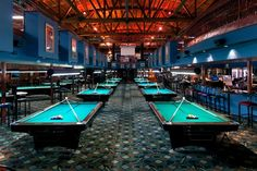 """I could agree with this statement. """"I could hang out in this pool hall a while!"""