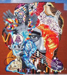 Tristan Eaton's biggest wall to date