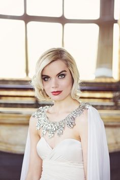 Art Deco & Old Hollywood Glamour Bridal Accessories by Gibson BespokeBridal Musings Wedding Blog