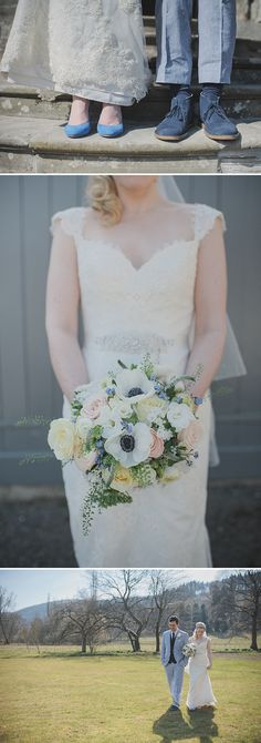 A Simple Contemporary Welsh Wedding With Blue colour Scheme And Provonias Dress 0014 Ill Hold You For The Rest Of My Life