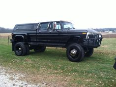 Massive old Ford truck