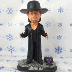 Wrestling Bobblehead Undertaker Forever Collectibles WWE BHWWEBMUDTK 2008  #ForeverCollectibles