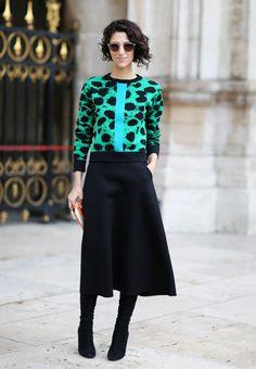 Yasmin Sewell in Zanzan 'Sunetra' sunglasses