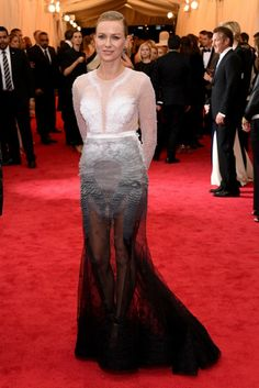 Naomi Watts in Givenchy Couture Met Ball 2014