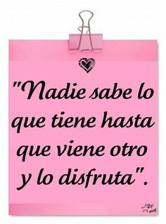 Muy cierto:)