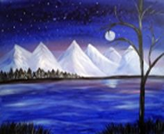 Paint Nite Cleveland | Game of Wickliffe formally Freeway lanes, Jan 18th, 2015