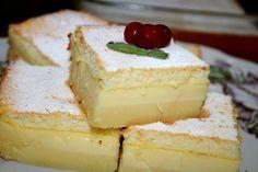 Delikátní vanilkový koláč