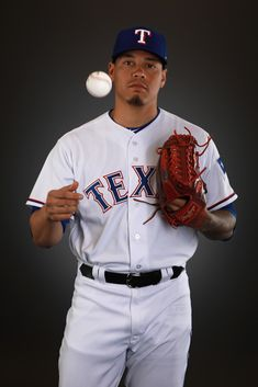 61f98ecf745 Keone Kela  50 of the Texas Rangers poses during Texas Rangers Photo Day at  the