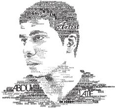meaningful self portrait typography - Google Search