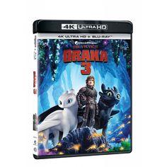 Blu-ray Jak vycvičit draka 3, UHD + BD, CZ dabing   Elpéčko - Predaj vinylových LP platní, hudobných CD a Blu-ray filmov