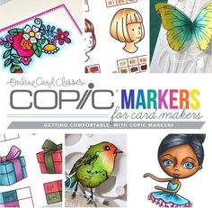 Copic Markers for Card Makers Class… Giveaway! | Jennifer McGuire Ink