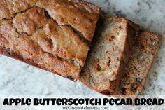 Apple Butterscotch Pecan Bread