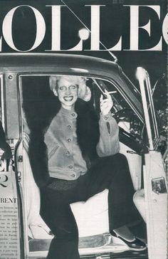1971-72 - Saint Laurent by Helmut Newton for Vogue