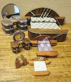 Good Sam Showcase of Miniatures: Art Deco Furniture in 3 scales: Dave's Attic Miniatures
