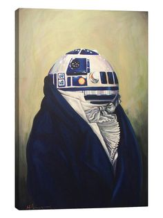 Duke R2D2 by Hillary White