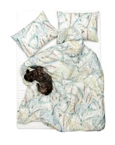 Jungle of Eden - Artist Duvet Covers and Pillows by Sophie Probst Linen Bedding, Bedding Sets, Bed Linen, Home Textile, Textile Design, Eden Artist, Modern Duvet Covers, Old Port, Cool Beds