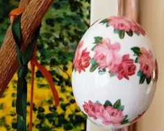 Decoupage Easter Eggs: Ideas and Tricks