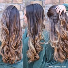 Balayage ombré by @chelegranger