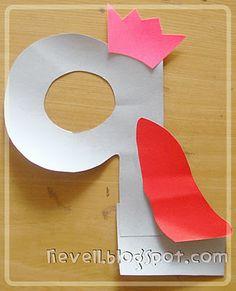 d'lievell: Nursery : Letter Q:  queen