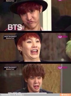 That is literally the worst face I can imagine Yoongi ever making. I fucking love him. God that's fucking awful.