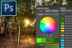 Na dica de hoje, você vai ver como é simples trabalhar com paleta de cores no Photoshop, utilizando 3 abas muito importantes do Photoshop: a …
