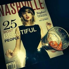 Taylor's on the cover of Nashville Style Magazine!!!! She looks beautiful!