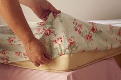 Como fazer lençol de elástico - Passo a Passo -