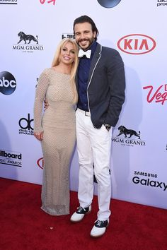 Pin for Later: Britney Spears and Her Boyfriend Make Their Red Carpet Debut!