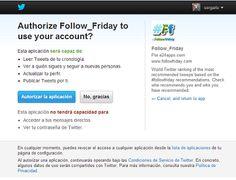 Cómo autenticar tu cuenta para aparecer en el ranking de Follow Friday | El Rincón de Sergarlo #RedesSociales #SocialMedia #Twitter